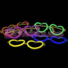 Glow Heart Glasses pack of 10 Glowhouse Brand