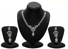 Sukkhi Modern Rhodium plated AD Stone Necklace Sets(1078VN1000)