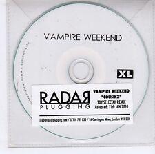 (GJ612) Vampire Weekend, Cousinz - 2010 DJ CD