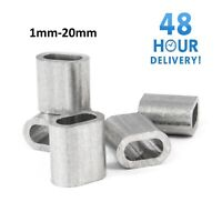 Steel Wire Rope Ferrules Crimping Sleeve Also For Marine Stainless Steel Wire TA