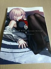 fate/grand order FGO servant storage guide book