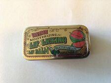 Vintage Lip Licking WATERMELON lip balm gloss tin slider village lickers