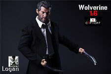 1/6 Mr. Wolf suit clothes accessories + bag + Wolf claws + head + body