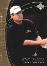 "2001 Upper Deck Golf ""Stat Leaders"" Loren Roberts"
