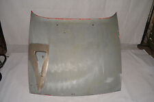 genuine used PORSCHE 944 turbo bonnet with air scoop in bare metal