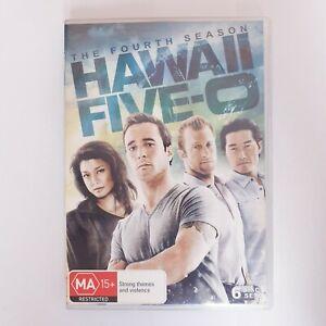 Hawaii Five O Season 4 DVD TV Series Free Postage Region 4 AUS - Crime Drama