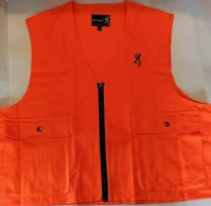Browning Safety Shooting/Hunting Vest Blaze Orange 3051000103 L