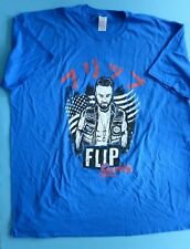 FLIP GORDON EXCLUSIVE T SHIRT WRESTLING WRESTLE CRATE SIZE: 3XL NEW IN PACKET