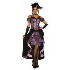 Saloon Girl Costume Adult Halloween Fancy Dress