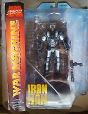 Marvel Select WAR MACHINE 7in. Action Figure Iron Man 3 movie DST Toys non-mint