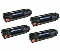 NON-OEM 4 PK TONER CARTRIDGE FOR HP CB435A LASERJET P1005 35A