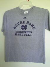 Adidas Notre Dame Fighting Irish Gray Women's T-Shirt Size L