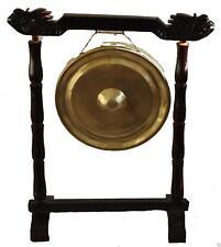 More details for 25cm vietnamien métal gong oriental chinois bouddhiste méditation - sans support