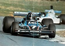 *** DAVID PURLEY  -  CHEVRON B30 / FORD  - SIGNED  -  F1 *** poster  ( deceased