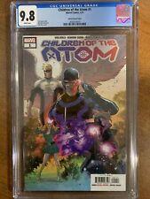 CHILDREN OF THE ATOM #1 - CGC 9.8 - Secret Variant  - X-Men