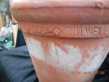 2 X SANKEY BULWELL Victorian Hand Thrown Antique Clay Terracotta pots, 72