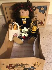 """Longaberger Exclusive,""""Lacey Bee Doll"""" By Lizzie'S Shoe String Babies, New!"""