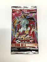 9-Card Storm of Ragnarok Booster Pack Yugioh Card | Konami Sealed Genuine UNLMTD