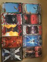 Rare vintage Crusty Demons Motocross Vhs/dvd Lot includes 1 2 3 4 5 6 7 8 9 & 10
