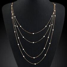 Pearl Alloy Beauty Fashion Necklaces & Pendants