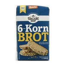 (4,98/kg) Bauckhof 6 Korn Brot Vollkorn Brotbackmischung vegan bio 500 g