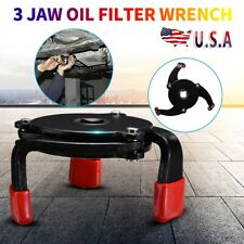 Universal Adjustable 3 Jaw Oil Filter Wrench Remover Tool Removing Oil filters