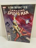 AMAZING SPIDER-MAN #21 FIRST PRINT MARVEL COMICS (2017)  CLONE CONSPIRACY