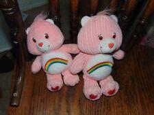 Lot of 2 Care bears - Cheer bear plush