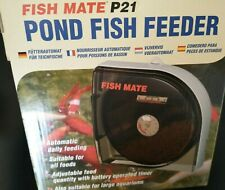 Fish Mate P21 Pond Fish auto Feeder New