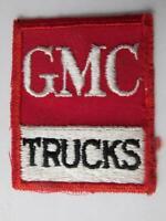 GMC TRUCKS VINTAGE PATCH DEALER SHOP TRUCKING  HAT JACKET BADGE ADVERTISING