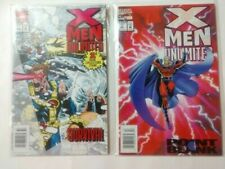 X-MEN UNLIMITED #1  SURVIVAL (First Issue Collectors Item) #2 POINT BLANK MARVEL