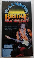 JIMI HENDRIX Rainbow Bridge VHS Tape VIDEO New SEALED Rhino 1990 Purple Haze