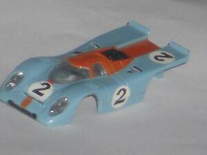 VINTAGE AURORA AFX PORSCHE 917 N/O/S BODY HO SLOT CAR