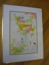 "Florals #2, Dianne Powell Signed Original Watercolor 24"" X 18"""