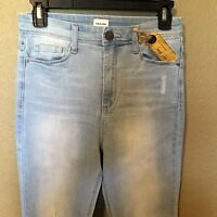 Sneak Peek Juniors Distressed Jeans, Light Wash Size 9