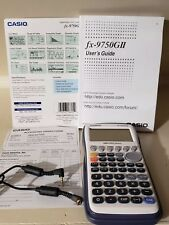 Casio Graphing Calculator FX9750GII