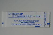 CARNET DE TIMBRES 1989 MARIANNE N°1086 NON PLIE NEUF **