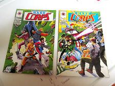 LOT 2 * VALIANT COMICS *THE H.A.R.D.  CORPS *1993 # 9.  &  # 10.   F/F
