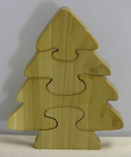 Christmas Tree Holiday Puzzle - Hand Cut