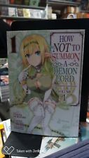 HOW NOT TO SUMMON A DEMON LORD VOLUME 1 SEVEN SEAS ENGLISH TEXT