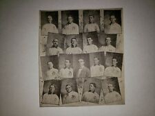 Buffalo Bisons 1905 Lajoie Issued Team Collage Sports McAllister George Stalling