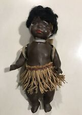 Antique german Deutsche doll bambola HEUBACH KOPPELSDORF black Woman