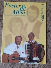 More details for foster & allen irish folk personally signed tour brochure