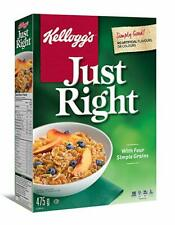 Kellogg's Just Right Cereal 475g/16.8oz, (Imported from Canada)