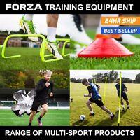 FORZA Multi Sport Training Equipment   Hurdles Cones Ladders Slalom Poles Belts