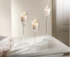 Glas Kerzenhalter 3 er Set  zum Sonderpreis !