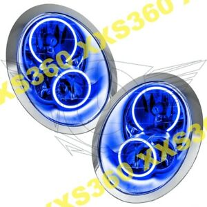 ORACLE Halo HEADLIGHTS for Mini Cooper/S 05-08 BLUE LED Angel Demon Eyes