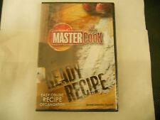 Master Cook Ready Recipe, Easy Online Recipe Organization DVD