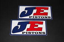 +043 JE Pistons Zylinder Schmidekolben Kolben Aufkleber Decal Sticker Bapperl ho