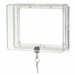 Honeywell Medium Thermostat Guard with Inner Shelf to Prevent Tampering (2)